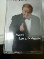 Vtg Royce Elliott Let's Laugh Again Cassette Tape Original Insert Tested