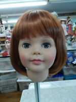"NEW STYLE ! Cathie Lee! wig for PATTI PATTY PLAYPAL ""DORIS"" CARROT RED SZ 19 1/2"