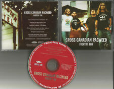 CROSS CANADIAN RAGWEED Fightin for 2005 USA PROMO DJ CD single w/ PRINTED LYRICS