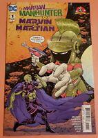 MARTIAN MANHUNTER / MARVIN THE MARTIAN #1 ~ NM 2017 LOONEY TUNES DC COMICS