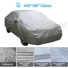 2 Layer Heavy Duty Waterproof Car Cover Cotton Lining Scratch Proof Small Size S