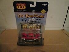 1957 chrysler 300 red 2dr  route 66 toy co 1:64 Scale