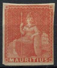 Mauritius 1858-62 SG#28, 6d Vermilion Britannia MH #A88462