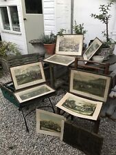 More details for antique horse and hound prints