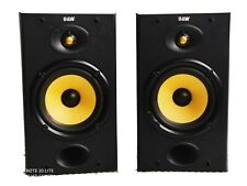 B&W DM-601 Casse 8 Ohm Audio Stereo Diffusori Acustici Bass Reflex Musica hi-fi