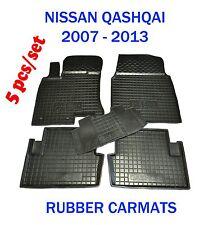 Rubber Car Floor Mats All Weather Carmats Alfombras fit Nissan QASHQAI 2007-13