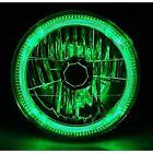7 H6024 6014 Halogen Green Led Halo Ring H4 Light Bulb Angel Eye Headlight