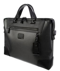 Tumi Indianapolis CFX Carbon Fiber Laptop Brief Messenger Bag #35611CB $1000