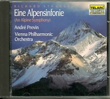 CD - André Previn - Richard Strauss - Eine Alpensinfonie - (22 Song) Telarc