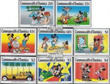 dominica 1268-1275 (complete.issue.) unmounted mint / never hinged 1989 Hollywoo