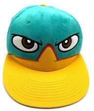 PERRY THE PLATYPUS - DISNEY green / yellow adjustable cap / hat - Phineas Ferb