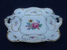 Vintage Hutschenreuther Selb Bavaria Serving Platter Pattern 5337 Floral & Gold