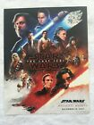 Star Wars Galactic Nights The Last Jedi Poster Lithograph Print December 16 2017