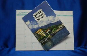 2022 Month Planner By the River 8  x 10 Large Planner Next Day Shipping