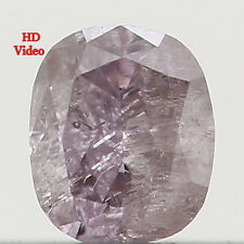 Natural Loose Diamonds Oval Brown Pink Color I2 Clarity 2.96 MM 0.11 Ct L8484