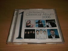 "VARIOUS "" THE NUMBER ONE CLASSICAL ALBUM 2006 "" DOUBLE CD ALBUM - UK FREEPOST"
