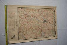 AF1 Carte - Champs de Bataille de l Yser - Gand