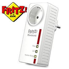 AVM FRITZ! Powerline Adattatore 1220e fino a 1.200 MB/s 2 x LAN Gigabit powerlan