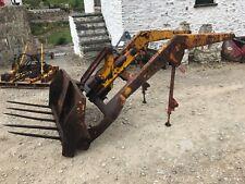 Massey Ferguson Tractor Loader 135 Bucket and Fork VAT INCLUDED