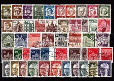 Berlin ab 1960 Lot Freimarken alle sauber gestempelt,einwandfrei, siehe Bild(4