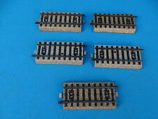"Marklin 5129 Small Straight ""M"" Track Set of 5 pcs."