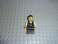 Personnage serveur LEGO minifig barman barkeeper Set 6376/6410/6314/6543/6416...