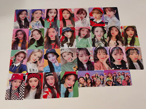 Weeekly We Play Official photocard tarot puzzle 4 cut