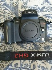 Panasonic LUMIX DMC-GH2 16.0MP Digital Camera - Black (Body Only) Exc condition