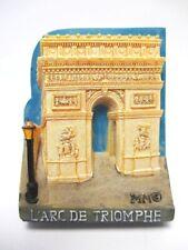 Paris Arc de Triomphe Poly Magnet Frankreich France Reise Souvenir Neu