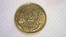 2 francs Morlon bronze aluminium 1939