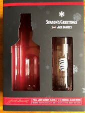 Jack Daniel's High Ball Glass & Promotional Box Carton