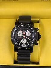 NEW Mens CX Swiss Military Seawolf I Scuba Nero 2416 Watch W/ Box