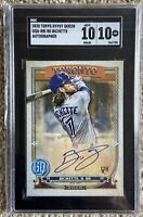 Bo Bichette Rookie RC auto Sgc Grade 10 Card And Signature Not *PSA/BGS*