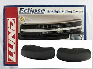 Lund 37659 - Eclipse Dark Smoke Headlight Cover for 1997-2003 Ford F150