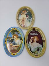 1973 COCA COLA REPRODUCTION MINIATURE TRAYS