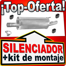 Silenciador Trasero OPEL OMEGA B 2.0 DTi 2.5 TD FAMILIAR 2000-2006 Escape HHB