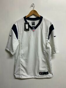 Houston Texans Jersey Nike Men's NFL Road Game Jersey - White - New