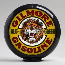 "Gilmore Blu-Green 13.5"" Gas Pump Globe w/ Black Plastic Body (G136)"