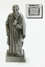 Vintage Bartholomew Pewter Statue The Danbury Mint Christ & The Twelve Apostles
