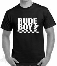 2 TONE SKA RUDE BOY RETRO T SHIRT SIZES S-5XL