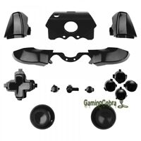 Black Full Set Buttons replacement kit for Xbox One Controller 3.5 mm Jack Elite