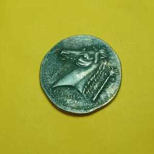 Philip II Alexander the Great of the Ancient Olympic Games Silver horse head