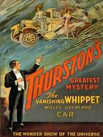 Vintage Old Transport Poster Thurston Vanishing Whippet Print A4 A3 A2 A1