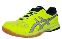 ASICS GEL-ROCKET 8 Men's Indoor Shoes Lime Black Badminton Squash B706Y-750