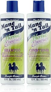 Mane 'n Tail Herbal Essentials Shampoo 355ml and Conditioner 355ml - GUARANTEED