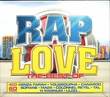 RAP LOVE THE BEST OF - 4 CD COMPILATION NEUF ET SOUS CELLO