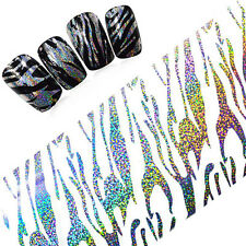 1 Roll Starry Nail Foil Holographic Glitter Strips Manicure Holo Sticker Decal