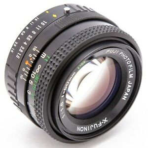 Fuji X-Fujinon DM 50mm f1.6 manual focus prime lens, boxed