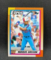1990 Topps Marquis Grissom #714 - Montreal Expos - Rookie Card (RC) - MINT