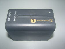 Sony NP-F960 5400mAh Li-Ion Camcorder GENUINE ORIGINAL! Has over 1000 minutes!